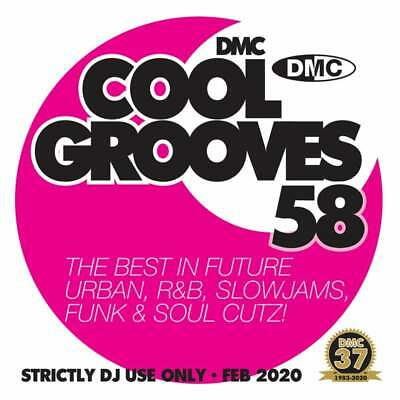 Cool Grooves Vol 58 Chart Hits in Urban, RnB, Jazz, Soul and Funk DJ CD