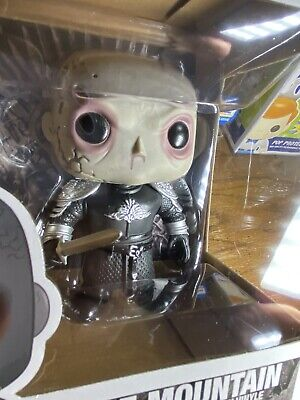"Game Of Thrones Funko Pop The Mountain 6"" Unmasked"