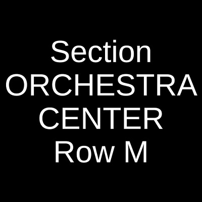 3 Tickets Hadestown 9/2/20 Walter Kerr Theatre New York, NY