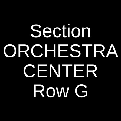 3 Tickets Hadestown 4/2/20 Walter Kerr Theatre New York, NY