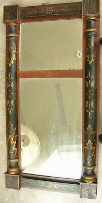 Antique Stenciled and Decorated American Mirror-Hitchcock !830-40