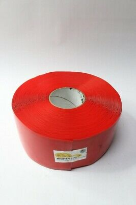 """Mighty Line 4RR 4"""" X 100' Roll RED Floor Marking Tape"""