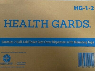 HOSPECO HG12 2-Pc. Health Gards Toilet Seat Cover Dispenser BUY MORE & SAVE 15%!