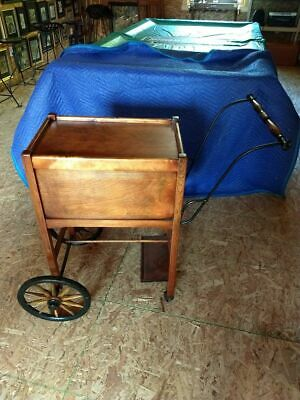 Extremely Rare Antique Tea Library Post Office Serving Cart LOCAL PICKUP ONLY