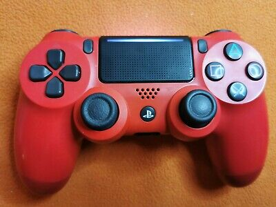 Sony Official PS4 Wireless Controller - V2 - Red, Barely used