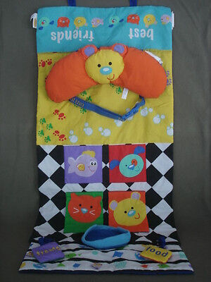 Infant Baby Infantino Shopping Cart Cover or Play Mat Best Friends