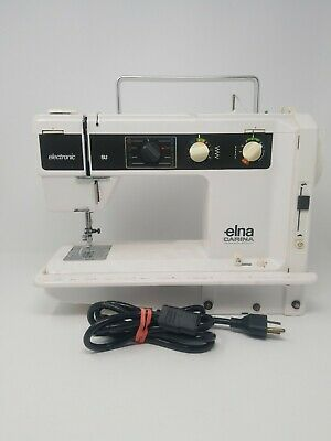 Elna Carina 66 SU Sewing Machine  Untested Powers on