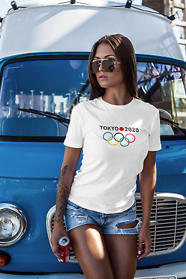 TOKYO SUMMER OLYMPICS 2020 T SHIRTS - MENS+WOMANS+KIDS + Large Sizes! SHIPS FREE