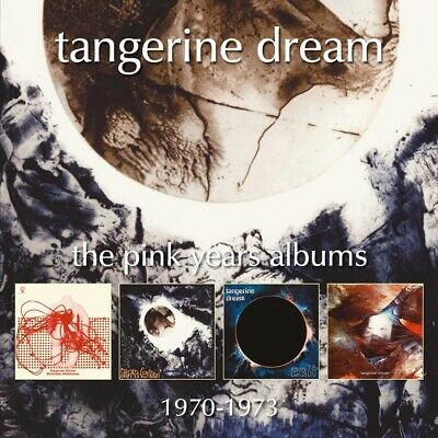 Tangerine Dream The Pink Years Albums 1970-1973 (Remastered 4 CD set)