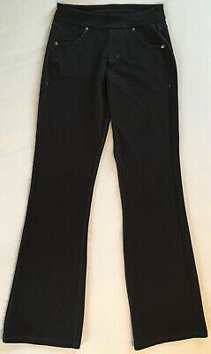 Athleta Bettona Classic Pants Size XS Regular Black Workout Yoga Pant w/ Pockets