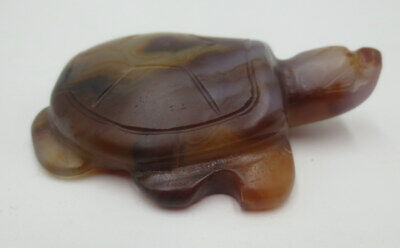 With Story~Hongshan Culture Agate Pendant Fengshui Turtle Lovely Pendant