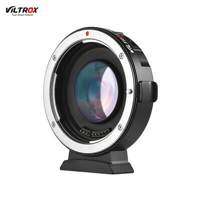 Viltrox EF-M2 Electronic Adapter Booster 0.71X For Canon EF to MFT M43 Cam Lens