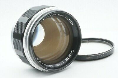 """TESTED / EXC++"" CANON 50mm f1.2 Leica screw mount L39 LTM From JAPAN"