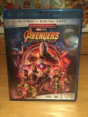 The Avengers: Infinity War (Blu-ray Disc, 2018)