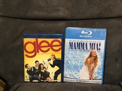 Bluray Lot Like New Glee Season One 1 And Mamma Mia The Movie