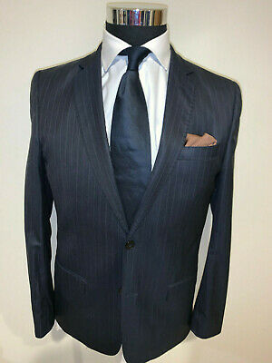 ⭐️ Versace Collection Slim  Dark Gray  2 Button Suit 38 Regular 38R ⭐️