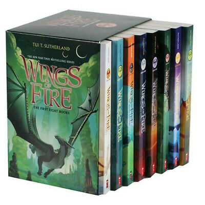 Wings of Fire 1-12 Books Set By Tui T. Sutherland [P~D~F] (12 Books Set)