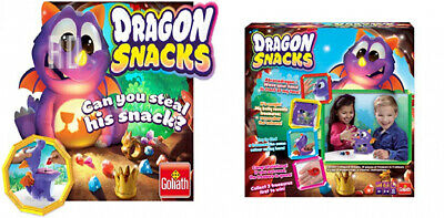 Goliath Games GL31225.006 Dragon Snacks for Kids Aged 4+ Fun Memory Game