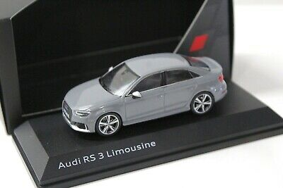 1:43 iScale Audi RS3 Limousine nardo grey DEALER NEW bei PREMIUM-MODELCARS