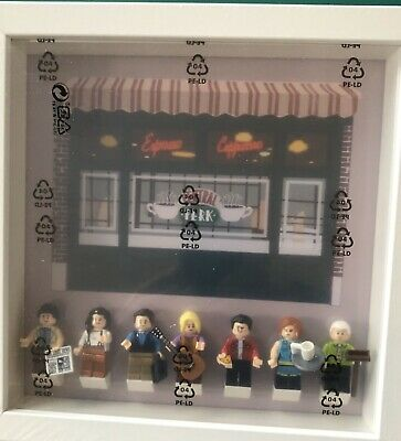 Display Frame Lego Friends TV Central  Perk 21389 Incl 7 Mini Figures