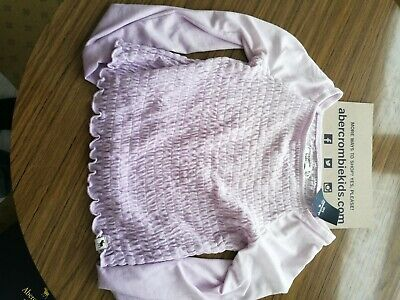 Abercrombie and Fitch Kids Pink long sleeve Top BNWT. 9/10 Years.
