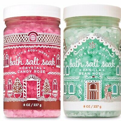 Bath And Bodyworks Bath Salt Soak Duo