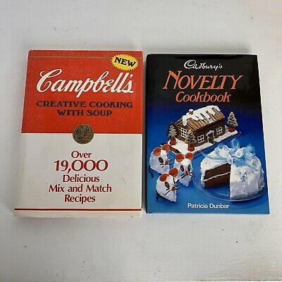 Vintage Campbell's Soup Creative Cooking With Soup & Cadburys Novelty Cook Book