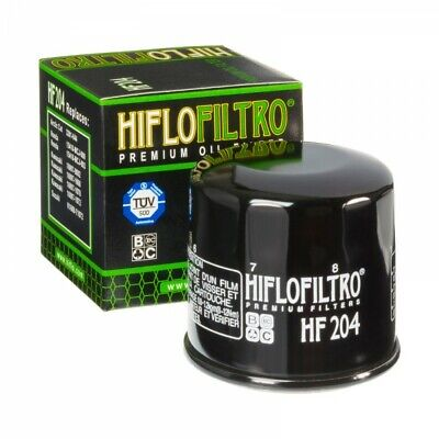 Hiflo HF204 Motorcycle Oil Filter Multipack X 6 for Triumph Tiger 800 XRX 2017