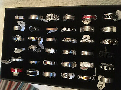 Joblot Stainless Steel Rings