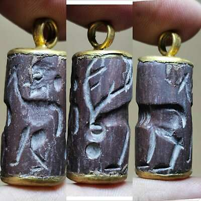 Stunning Old Stone intaglio Wonderful Pendant # 128