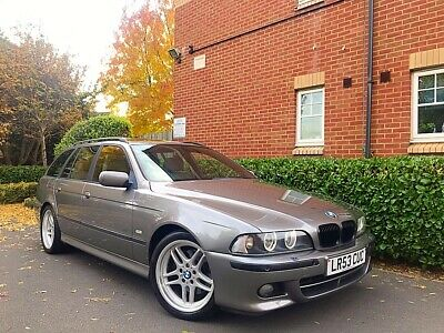 "2003 53 REG BMW 5 Series E39 3.0 530i Sport Touring Auto 5dr ""ESTATE"" HPI CLEAR"""