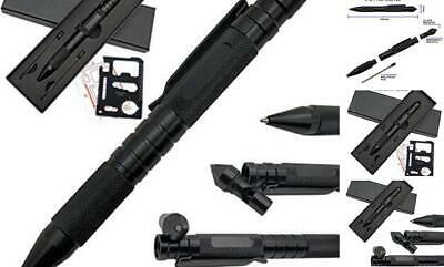 Tactical Pen Survival Multi-Tool for Self-defence with Window Glass Breaker