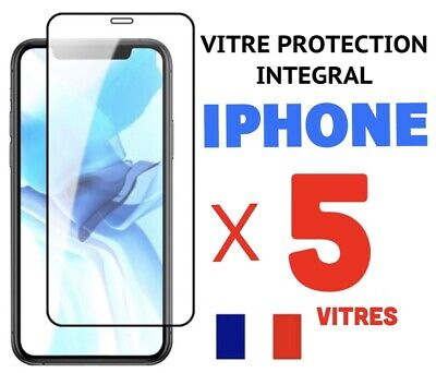 Verre Trempe Iphone Vitre Protection Ecran 11 Pro Max Se 2020 7 8 Plus X Xr Xs