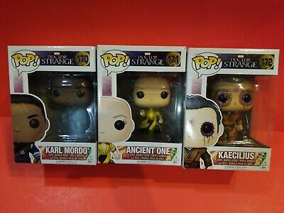 Funko POP! Marvel DR STRANGE *Ancient One*Kaecilius*Karl Mordo*3PC*