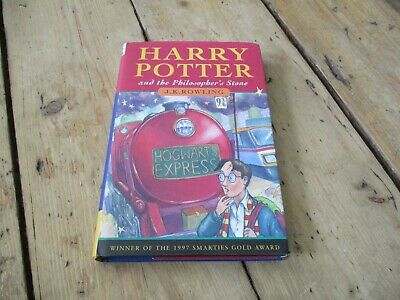 Harry Potter and the Philosopher's Stone, First Edition 1/3, Ted Smart, Hardback