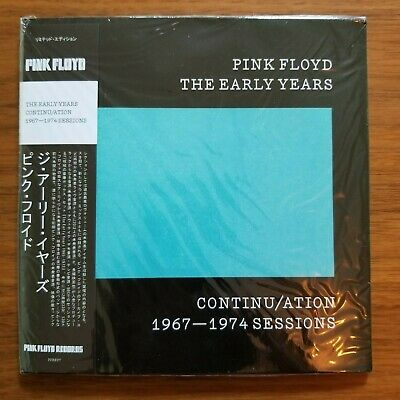 Pink Floyd. Early Years. Continu/ation. 1967-1974 Sessions. NEW Mini-LP CD