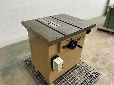 "SCMI 10"" Tilting Arbor Table Saw"