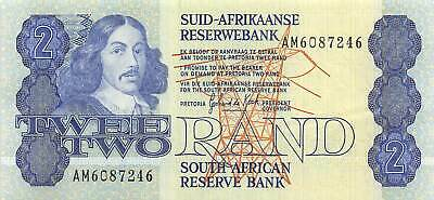 2 rand XF Pick 118 South Africa ND 1983-1990 118d