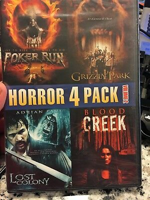 Horror 4 Pack, Vol. 2 (DVD, 2011) - New and factory sealed!