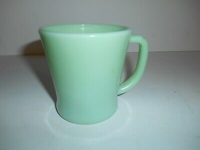 Vintage Fire King Jadeite D Handle Coffee Mug Cup. Oven Ware. L@@K!!