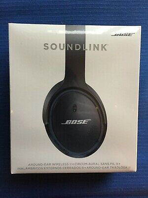 Bose SoundLink Around-Ear Wireless II Headphones (Black) BRAND NEW!!