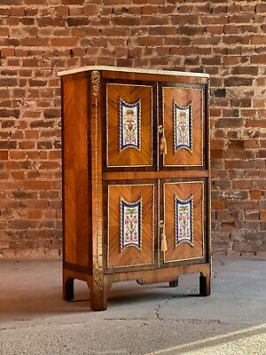 Napoleon III French Cabinet Escritoire Kingwood and Rosewood France 1890