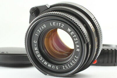 [NEAR MINT] Leica Leitz Wetzlar Summicron-C 40mm F/2 Lens for Leica M From JAPAN