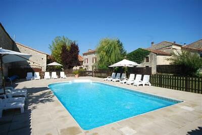 Holiday SW France, Farmhouse sleeps 10, heated pool, games room, WiFi, 22 Augus