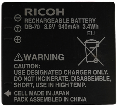 Ricoh DB-70 Battery - Unboxed