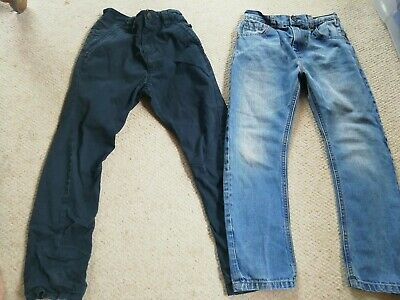 Boys Jeans / Casual Blue Trousers NEXT Age 7