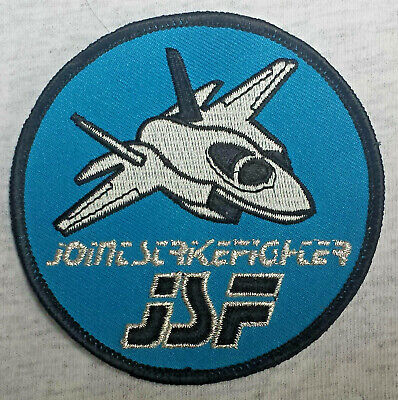 JOINT STRIKE FIGHTER NAVY MARINES Patch Aufnäher USAF MILITARY FIGHTER USA 16