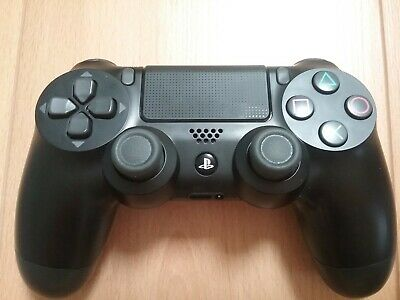 Sony Original PS4 Wireless Dualshock 4 Controller Modell V2 Schwarz