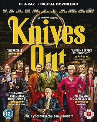 Knives Out (with Digital Download) [Blu-ray]