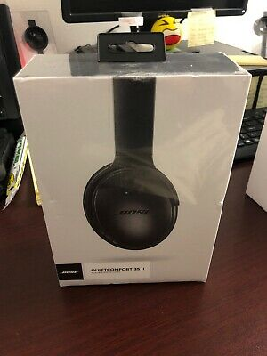 Bose QuietComfort 35 Series II Black Wireless Noise Cancelling Headphones Sealed